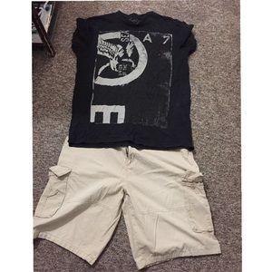 AE shirt W/ Free Shorts